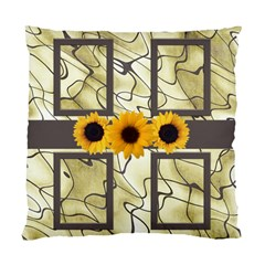 Sunflower (2 Sided) Cushion By Deborah   Standard Cushion Case (two Sides)   Dh5rbwsri9rv   Www Artscow Com Back