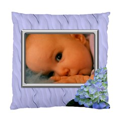 Lilac Delight (2 Sided) Cushion By Deborah   Standard Cushion Case (two Sides)   Ixcj2z2xcwu4   Www Artscow Com Back