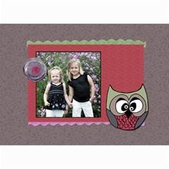 2019 Owlie Calendar By Amanda Bunn   Wall Calendar 8 5  X 6    Ub0w17vaen09   Www Artscow Com Month
