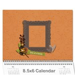 Mini Calendar: Love of Family - Wall Calendar 8.5 x 6