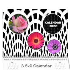 Modern Black And White Calendar 2019 (any Year) 8 5x6 By Deborah   Wall Calendar 8 5  X 6    7kg2p80kswjv   Www Artscow Com Cover