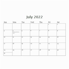 Modern Black And White Calendar 2017 (any Year) 8 5x6 By Deborah   Wall Calendar 8 5  X 6    7kg2p80kswjv   Www Artscow Com Jul 2017