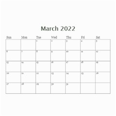 Modern Black And White Calendar 2019 (any Year) 8 5x6 By Deborah   Wall Calendar 8 5  X 6    7kg2p80kswjv   Www Artscow Com Mar 2019