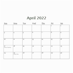 Modern Black And White Calendar 2017 (any Year) 8 5x6 By Deborah   Wall Calendar 8 5  X 6    7kg2p80kswjv   Www Artscow Com Apr 2017
