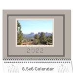 Coffee and Cream (any Year) 2016 Calendar 8.5x6 - Wall Calendar 8.5  x 6