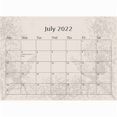 Coffee And Cream (any Year) 2018 Calendar 8 5x6 By Deborah   Wall Calendar 8 5  X 6    Cjohxphb8aio   Www Artscow Com Jul 2018