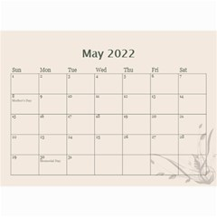 Cream Classic 2019 (any Year) Calendar 8 5x6 By Deborah   Wall Calendar 8 5  X 6    2fyzfcnroj84   Www Artscow Com May 2019