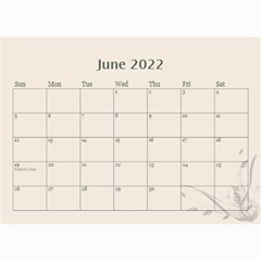 Cream Classic 2019 (any Year) Calendar 8 5x6 By Deborah   Wall Calendar 8 5  X 6    2fyzfcnroj84   Www Artscow Com Jun 2019