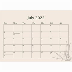 Cream Classic 2019 (any Year) Calendar 8 5x6 By Deborah   Wall Calendar 8 5  X 6    2fyzfcnroj84   Www Artscow Com Jul 2019