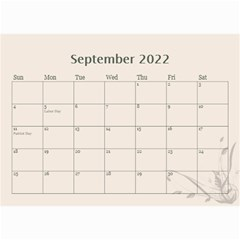 Cream Classic 2019 (any Year) Calendar 8 5x6 By Deborah   Wall Calendar 8 5  X 6    2fyzfcnroj84   Www Artscow Com Sep 2019
