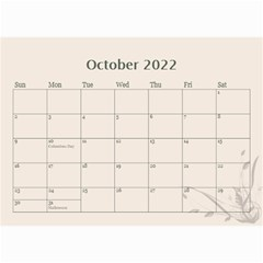 Cream Classic 2019 (any Year) Calendar 8 5x6 By Deborah   Wall Calendar 8 5  X 6    2fyzfcnroj84   Www Artscow Com Oct 2019