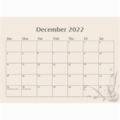 Cream Classic 2019 (any Year) Calendar 8 5x6 By Deborah   Wall Calendar 8 5  X 6    2fyzfcnroj84   Www Artscow Com Dec 2019