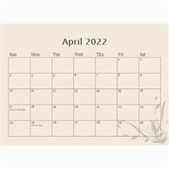 Cream Classic 2019 (any Year) Calendar 8 5x6 By Deborah   Wall Calendar 8 5  X 6    2fyzfcnroj84   Www Artscow Com Apr 2019