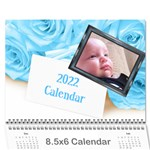Roses for you (any Year) 2016 Calendar 8.5x6 - Wall Calendar 8.5  x 6