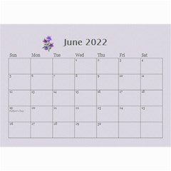 Pretty In Mauve 2019 (any Year)calendar, 8 5x6 By Deborah   Wall Calendar 8 5  X 6    5x4ttpugz6a5   Www Artscow Com Jun 2019