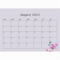 Pretty In Mauve 2019 (any Year)calendar, 8 5x6 By Deborah   Wall Calendar 8 5  X 6    5x4ttpugz6a5   Www Artscow Com Aug 2019