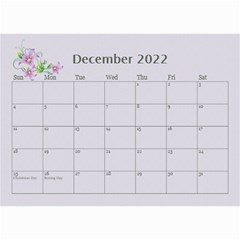 Pretty In Mauve 2019 (any Year)calendar, 8 5x6 By Deborah   Wall Calendar 8 5  X 6    5x4ttpugz6a5   Www Artscow Com Dec 2019