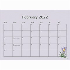 Pretty In Mauve 2019 (any Year)calendar, 8 5x6 By Deborah   Wall Calendar 8 5  X 6    5x4ttpugz6a5   Www Artscow Com Feb 2019