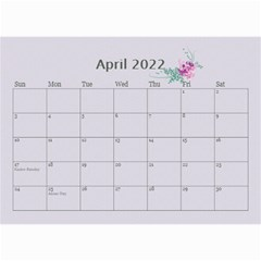 Pretty In Mauve 2019 (any Year)calendar, 8 5x6 By Deborah   Wall Calendar 8 5  X 6    5x4ttpugz6a5   Www Artscow Com Apr 2019