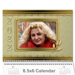 Formal Elegant (any Year) 2013Calendar 8.5x6 - Wall Calendar 8.5 x 6