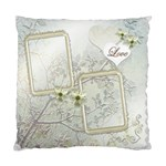 Wedding Love Double Sided Cusion Case - Standard Cushion Case (Two Sides)