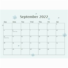 Framed With Flowers 2018 (any Year) Calendar 8 5x6 By Deborah   Wall Calendar 8 5  X 6    Jgsrh48djbe1   Www Artscow Com Sep 2018
