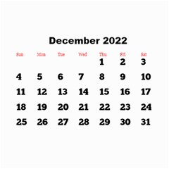 All Framed 2019 Large Numbers Calendar 8 5x6 By Deborah   Wall Calendar 8 5  X 6    Fu59vwnf8g8t   Www Artscow Com Dec 2019