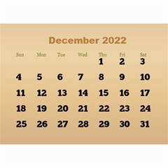 Male Calendar 2018 (large Numbers) 8 5x6 By Deborah   Wall Calendar 8 5  X 6    98of815gs3bp   Www Artscow Com Dec 2018