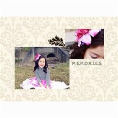 Mini Calendar 2015 And Any Year: Memories To Cherish By Jennyl   Wall Calendar 8 5  X 6    1n3i8ob0ceki   Www Artscow Com Month
