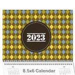 Mini Calendar For Guys - Wall Calendar 8.5  x 6