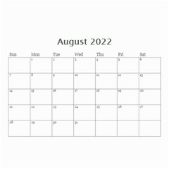 Mini Calendar For Guys By Jennyl   Wall Calendar 8 5  X 6    Jcynjk6v2wum   Www Artscow Com Aug 2019