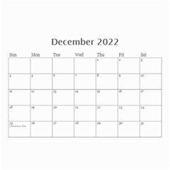 Mini Calendar For Guys By Jennyl   Wall Calendar 8 5  X 6    Jcynjk6v2wum   Www Artscow Com Dec 2019