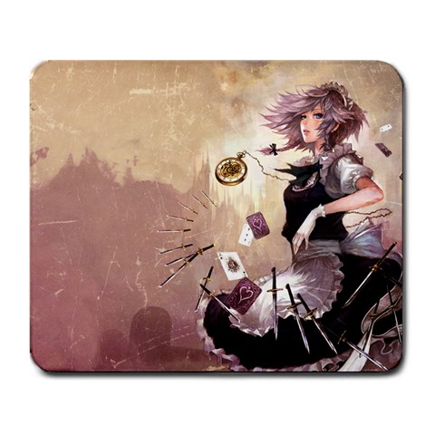 Sakuya By Alessandro Grassi   Large Mousepad   Xx8dccuoig58   Www Artscow Com Front