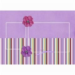 Mini Calendar: Lavander Dreams By Jennyl   Wall Calendar 8 5  X 6    R5psn8j29cih   Www Artscow Com Month