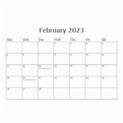 Mini Calendar: Lavander Dreams By Jennyl   Wall Calendar 8 5  X 6    R5psn8j29cih   Www Artscow Com Feb 2016
