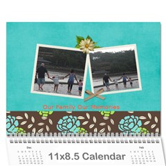 Mini Wall Calendar: Our Family Our Memories By Jennyl   Wall Calendar 11  X 8 5  (12 Months)   618egb04zd3h   Www Artscow Com Cover