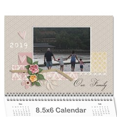 Mini Wall Calendar: Our Family By Jennyl   Wall Calendar 8 5  X 6    Q2qkv4krvg8o   Www Artscow Com Cover