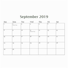 Mini Wall Calendar: Our Family By Jennyl   Wall Calendar 8 5  X 6    Q2qkv4krvg8o   Www Artscow Com Sep 2019