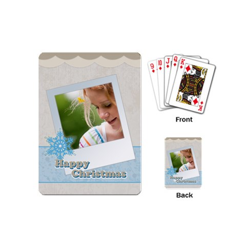 Christmas By Joely   Playing Cards (mini)   E7m9i4r6lmrz   Www Artscow Com Back