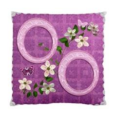 Lavander Floral Double Sided Cushion Case By Ellan   Standard Cushion Case (two Sides)   4wacj74sls3t   Www Artscow Com Front