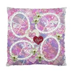 Wedding pink lavander Double Sided Cushion Case - Cushion Case (Two Sides)