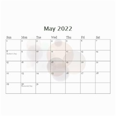 Bubbles 2017 (any Year) Calendar 8 5x6 By Deborah   Wall Calendar 8 5  X 6    S3k9mozm0cyj   Www Artscow Com May 2017