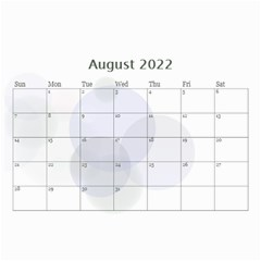Bubbles 2018 (any Year) Calendar 8 5x6 By Deborah   Wall Calendar 8 5  X 6    S3k9mozm0cyj   Www Artscow Com Aug 2018