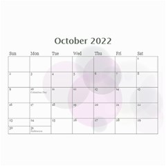Bubbles 2018 (any Year) Calendar 8 5x6 By Deborah   Wall Calendar 8 5  X 6    S3k9mozm0cyj   Www Artscow Com Oct 2018