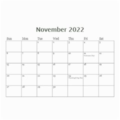Bubbles 2021 (any Year) Calendar 8 5x6 By Deborah Nov 2021