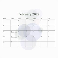 Bubbles 2018 (any Year) Calendar 8 5x6 By Deborah   Wall Calendar 8 5  X 6    S3k9mozm0cyj   Www Artscow Com Feb 2018