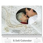 Our Wedding or Anniversary 2013 (any Year Calendar Mini - Wall Calendar 8.5 x 6