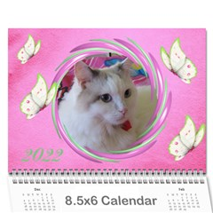 Little Butterflies 2018  (any Year) Calendar 8 5x6 By Deborah   Wall Calendar 8 5  X 6    Dlqwk4opgous   Www Artscow Com Cover