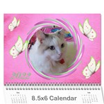 Little Butterflies 2017  (any Year) Calendar 8.5x6 - Wall Calendar 8.5  x 6