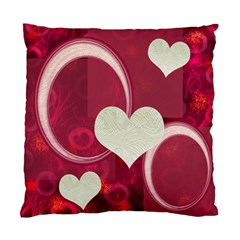I Heart You Pink Double Sided Cushion Case By Ellan   Standard Cushion Case (two Sides)   L6c9cr8p9g0d   Www Artscow Com Back
